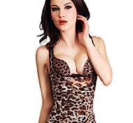 High Quality Summer Super Thin Mesh To Strengthen Functional Fat Burning Body Sculpting Underwear Leopard NY011