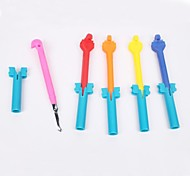 BaoGuang®Rainbow Color Loom Alloy Hook(Random Color)