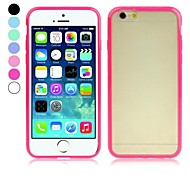 ENKAY Translucent Protective TPU Cover for iPhone 6 (Assorted Colors)