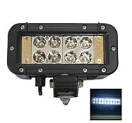 "Liancheng® 6"" 24W  Double Row Reflector CREE LED Light Bar for Off-road,UTV,Boat"