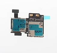 For Samsung Galaxy S4 i9500 - Replacement Part Cell Phone SIM Card Reader Holder Slot Flex Cable Ribbon