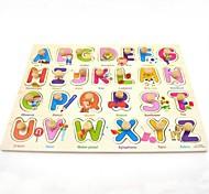 Children's Wooden Educational Toys Preschool Education Shape Letters Puzzles