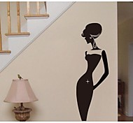 JiuBai™  Beauty Lady Home Decoration Wall Sticker Wall Decal