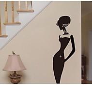 jiubai ™ mur maison de dame de beauté de la décoration murale sticker