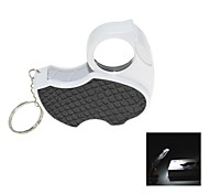 Handy Portable Folding 45X Jewelry Identification Magnifier with Purple Light Currency Detector