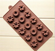 15 buche stampi torta forma di corona castello gelatina ghiaccio cioccolato, silicone 22 × 11 × 2 cm (8.7 × 4.3 × 0.8 pollici)
