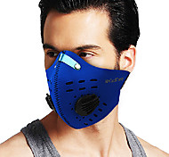 COOLCHANGE Blue Dust-anti Warm-keeping Cycling Face Masks