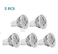 5 pcs GU10 5 W 1 350-400 LM Warm White PAR Dimmable Spot Lights/Par Lights AC 220-240 V