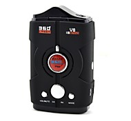 "V8 1.5"" Display 360 Bilingual Degree Digital Radar Laser Detector (12V / English / Russian)"