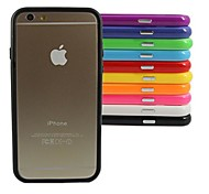 Stylish TPU Bumper Frame for iPhone 6 (Assorted Color)