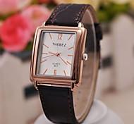 moda classica semplici orologi quadrati uomo