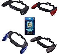 Flexible Joypad Bracket Holder Hand Handle Grip + protective film for Sony PS Vita PSV 2000