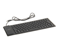 KN-85 Portable Waterproof Flexible Wired USB Keyboard