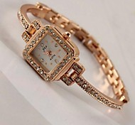 Women's  Fashion Small Artificial Diamond Bracelet Watch