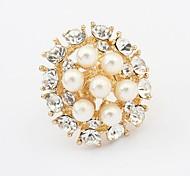 Damen Ringe Künstliche Perle/Strass Legierung Legierung