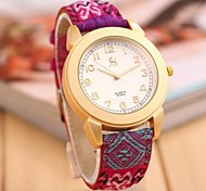 Women's Fashion Personality Contracted Set Auger Strap Watch