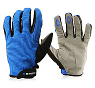 INBIKE Mesh Blue Breathable Full Finger Cycling Golves