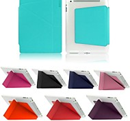 ENKAY Auto Sleep and Wake Up Designed PU + TPU Protective Case with Stand for iPad 2/3/4