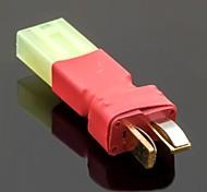 No Wires Connectors/Plug Male T-Plug to Female Mini Tamiya (10PCS/Bag)