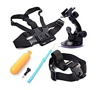 Chest Harness Front Mounting Screw Suction Cup For Gopro 5