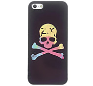 Unique Skull Pattern Aluminium Hard Case for iPhone 4/4S