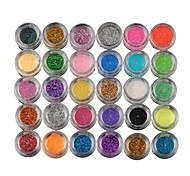 New Fashion Chic Women Lady Girls Pearly Lustre Shiny Eye Shadow 30 Boxes Colors