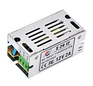 Xinyuanyang® S-24-12 12V 2A Regulated Switching Power Supply for LED Light and Surveillance Security Camera (110~220V)