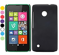 Solid Color Oil Coated Design PC Hard Back Cover Case for Nokia Lumia 530(Assorted Colors)
