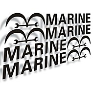 Marine Car Doors to Stick.(4PC)