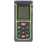 40m/131ft Mini Handheld Digital Laser Distance Meter Rangefinder Measure Area Volume w/ Level Bubble