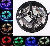 Waterproof 5M 300x5050 SMD RGB LED Strip Flexible Light + RGB 44Key Remote Control (AC100-240V)