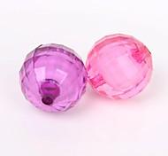 10pcs bunte runde Perlen