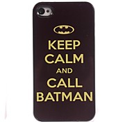 Keep Calm And Call Batman Design Aluminum Hard Case for iPhone 5/5S