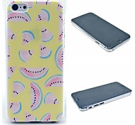 Yellow Watermelon Pattern Hard Case for iPhone 6 Plus