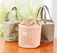 Anti-fouling Cotton Fiber Strand Outlet Wave Cloth Art The Picnic Lunch Bag Color Randomly