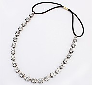 Fashion Gun Black Crystal Hair Accessories Hairband for Women