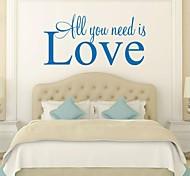 amor casa decoração da parede adesivos de parede decalque jiubai ™