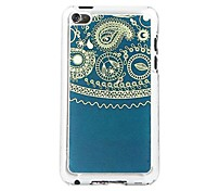 Totem  Leather Vein Pattern PC Hard Case for iPod touch 4