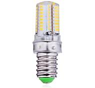 E14 4 W 64 SMD 3014 300 LM Warm White Corn Bulbs AC 220-240 V