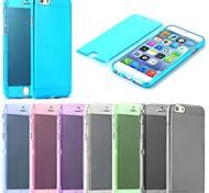 с сенсорным экраном ТПУ Полный Дело Тело Крышка для iPhone 6 (разных цветов)