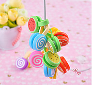 Fruit Cartoon Earphone Cable Wire Cord Organizer Cable Winder