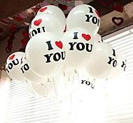 """I Love You""  Balloon - Set of 100"