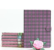 Plaid Pattern PU Leather Case with Back Stand for iPad mini 3, iPad mini 2, iPad mini/mini