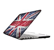Vintage Design UK Flag Design Full-Body Protective Plastic Case for 13-inch/15-inch MacBook-Pro with Retina Display