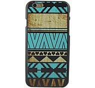 Ethnic Blue Stripe Design Pattern Hard Cover for iPhone 6