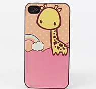 style girafe affaire de protection pour iPhone 4 / 4S