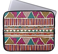 "Elonbo Bohemian Flowers Stripe 15"" Laptop Neoprene Protective Sleeve Case for Macbook Pro Retina Dell HP Acer"