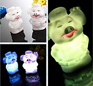 Coway Creative Romantic Gift Pig Colorful LED Nightlight