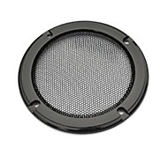 2PCS 5 inch Car Speaker Grille Car Speaker Cover Back Color High Quality Metal Cold-rolled steel+ABS Material