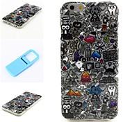 crasy Müll Muster Silikon Softcover-und Mini diaplay stehen für iphone 6